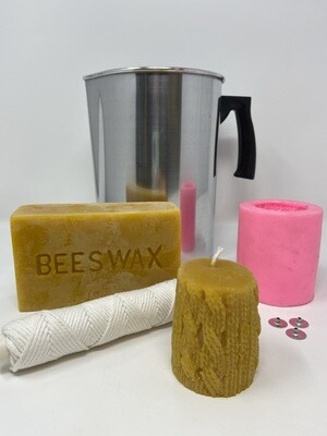 Beewax Candle Making Kit