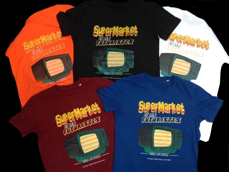 T-shirt SuperMarket et Les Futuristes