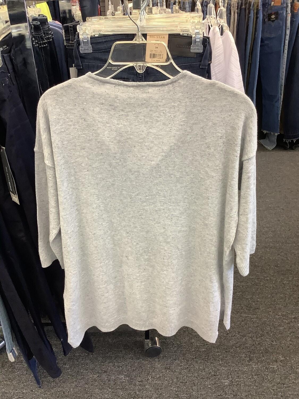 Eight Eight Eight Light Gray Sweater