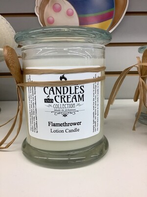 Candles and Cream Lotion Candle