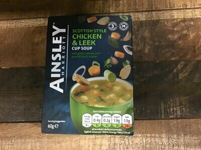 Ainsley Scottish Style Chicken Leek Soup 75g