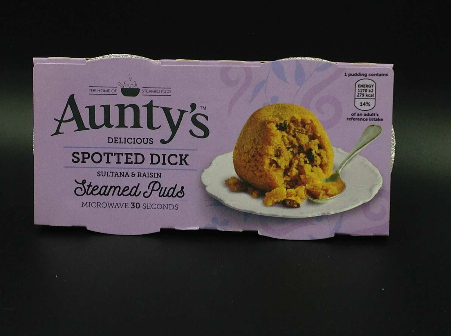 Auntys Spotted Dick 2x95g