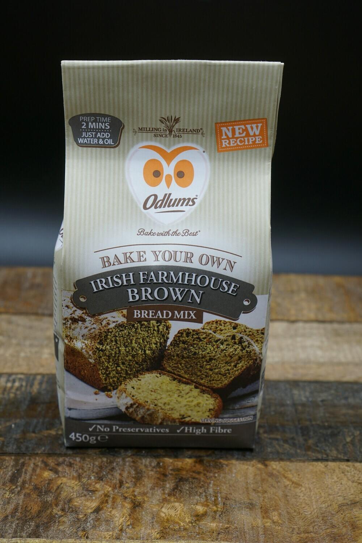 Odlums Irish Farmhouse Brown Bread Mix 450g