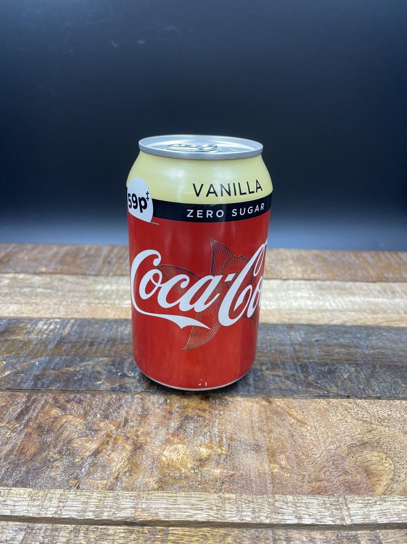 Coke zero Vanilla  330ml