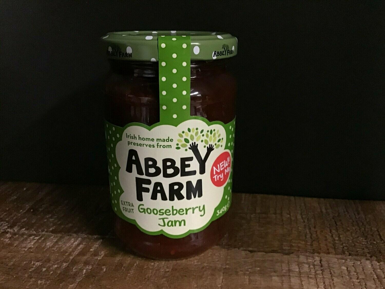 Abbey Farm Gooseberry Jam 340g