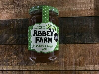 Abbey Farm Rhubarb & Ginger Jam 340g