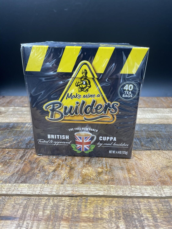 Builders Tea 40 Bags 125g