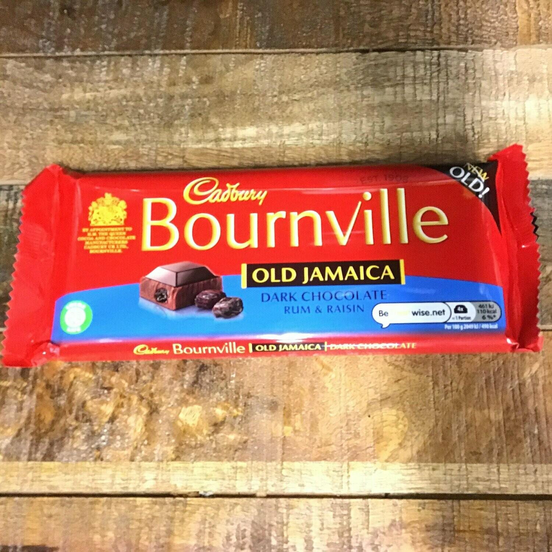 Cadbury Bournville Old Jamaica Rum 100g