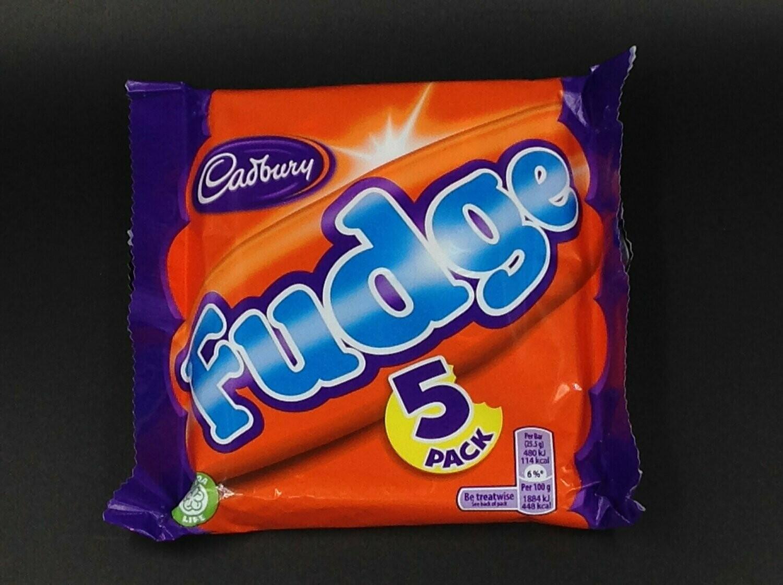 Cadbury Fudge 5-Pack 5x22g