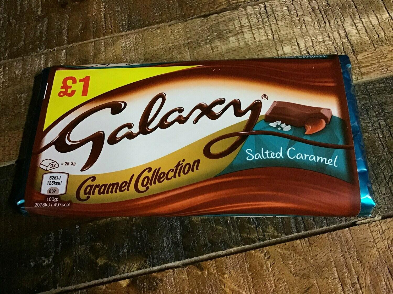 Galaxy Salted Caramel Bar 135g