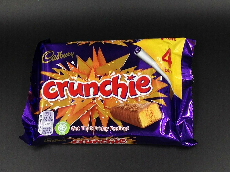 Cadbury Crunchie 4 pack 104.4g