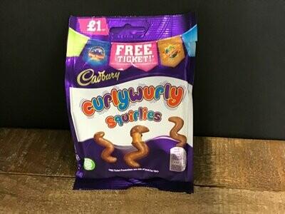 Cadbury CurlyWurly Squirlies 95g