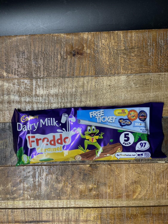 Cadbury Dairy Milk Freddo 5 pack 97.5g