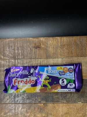 Cadbury Dairy Milk Freddo Caramel 5 pack