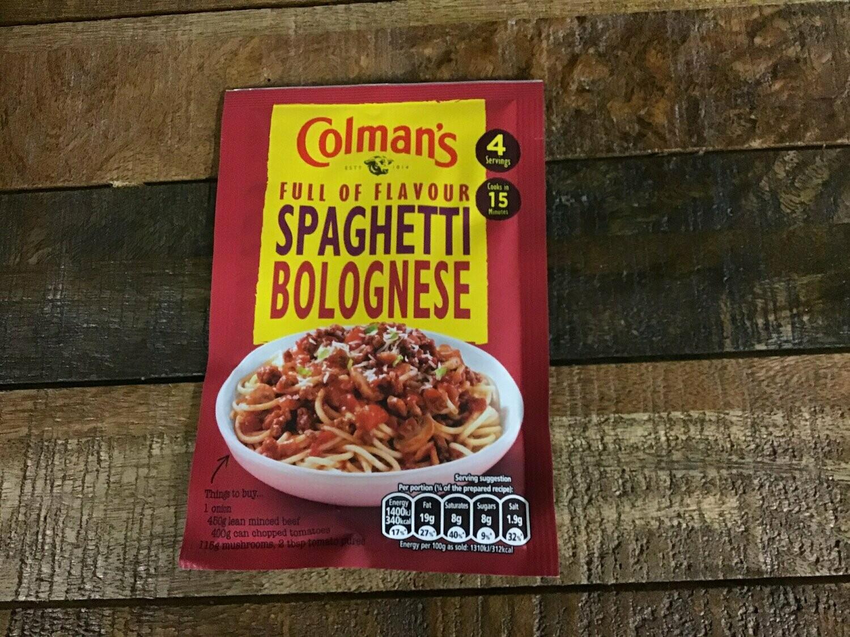 Colman's Spaghetti Bolognese 44g