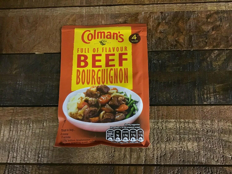 Colman's Beef Bourguinon 40g