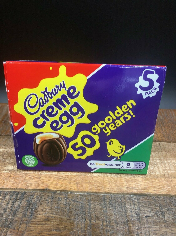 Cadbury Creme Egg 5 pack 200g