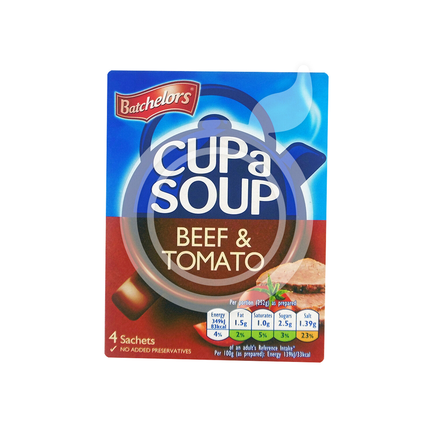 Cup A Soup Beef And Tomato