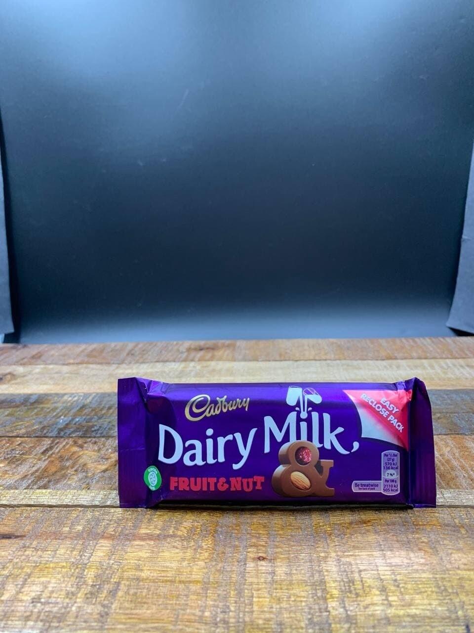 Dairy Milk Fruit & Nut 54g Single Bar