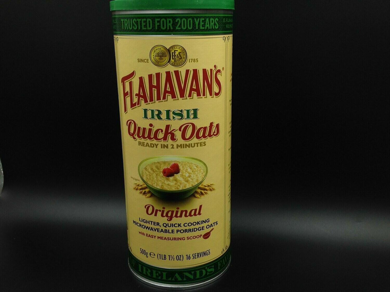 Flahavans Irish Quick Oats Original 500g