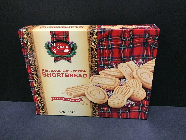 Highland Specialty Privilege Collection Shortbread 400g