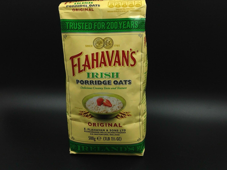 Flahavan's Original Irish Porridge Oats 500g