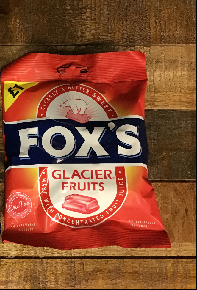 Fox's Glacier Fruits 130g