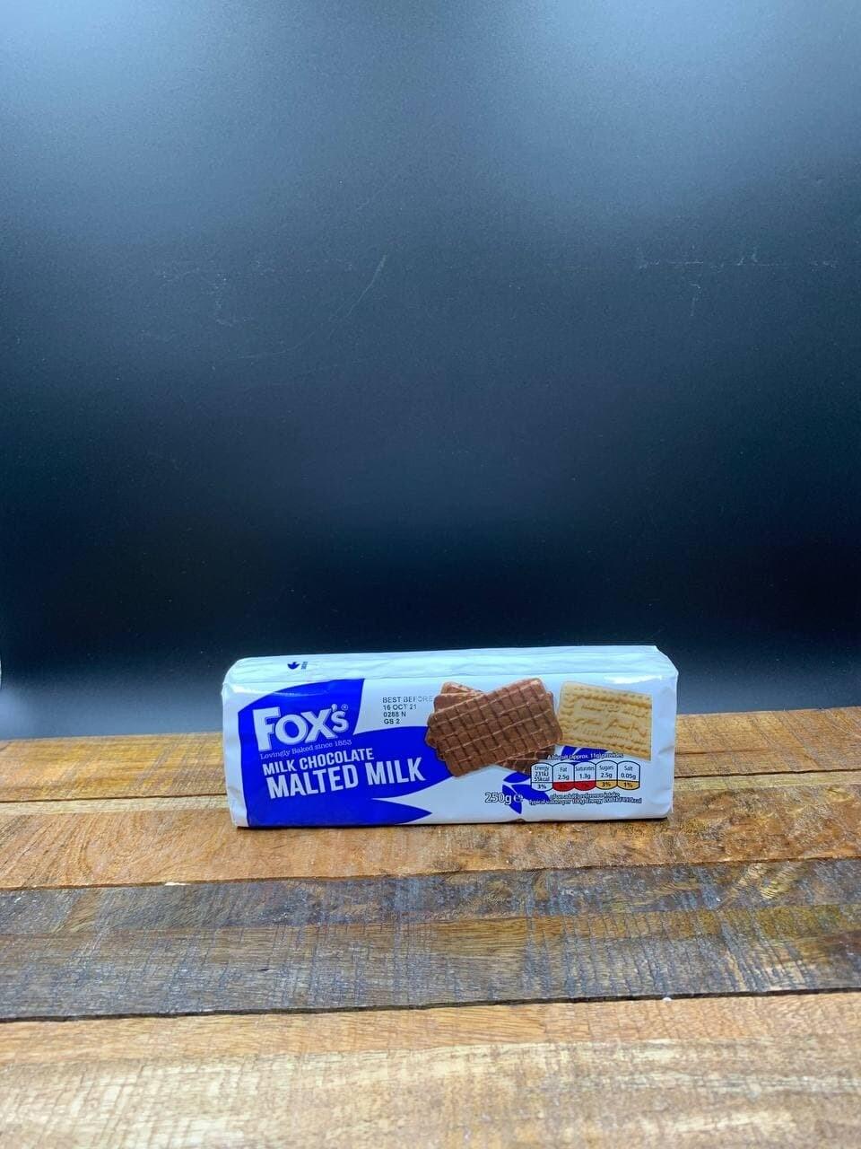 Foxs Milk Chocolate Malted Milk