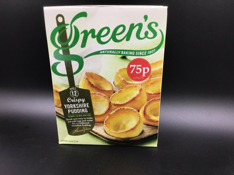 Greens Yorkshire Pudding 125g