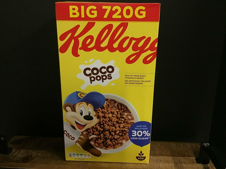 Kellogs Coco Pops Big 720g Box