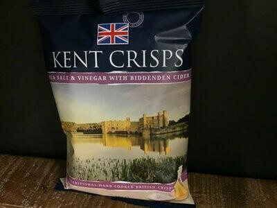 Kent Crisps Sea Salt & Vinegar With Biddenden Cider 40g