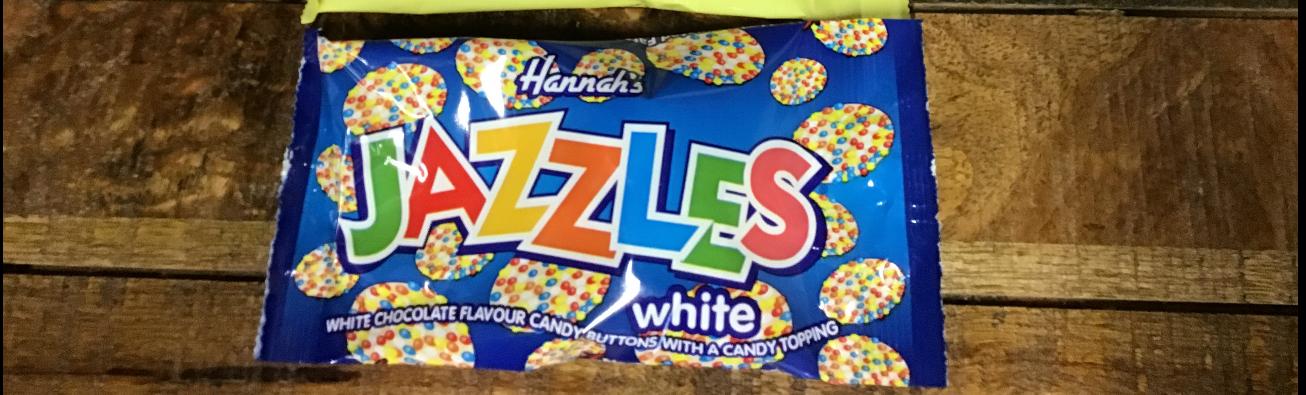 Hannah's Jazzles White 40g