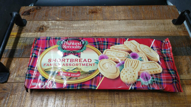 Highland Specialty Shortbread Family Assortment 300g
