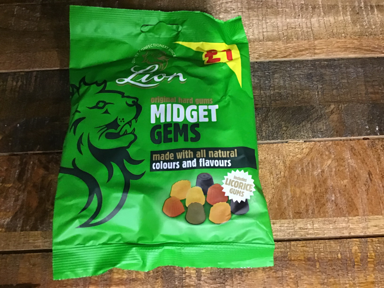 Lion Midget Gems 150g