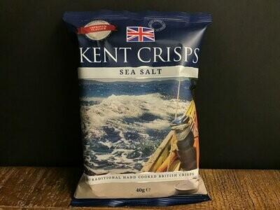 Kent  Crisps Sea Salt 40g