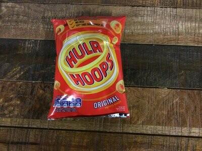 "Hula Hoops Original 34g ""Clearance Dated"""