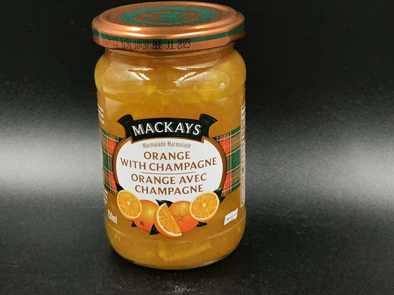 Mackays Orange With Champagne Marmalade 250