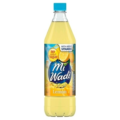 Mi Wadi No Added Sugar Lemon 1000ml