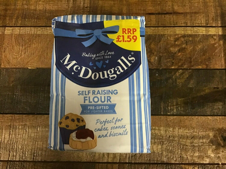 Mcdougalls Self Raising Flour 1100g