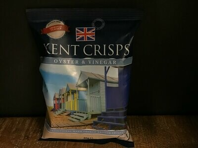 Kent Crisps Oyster & Vinegar 40g