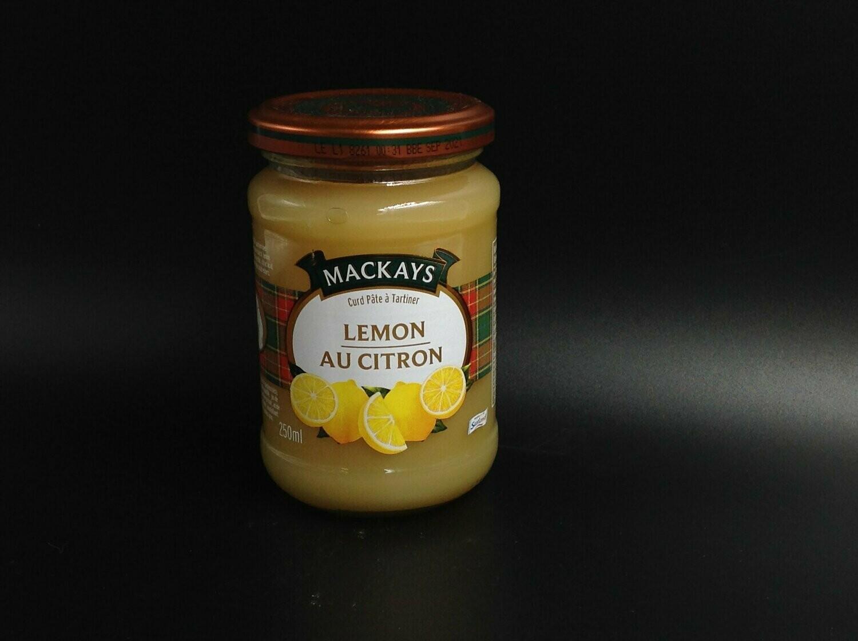 Mackays Lemon Curd 250ml