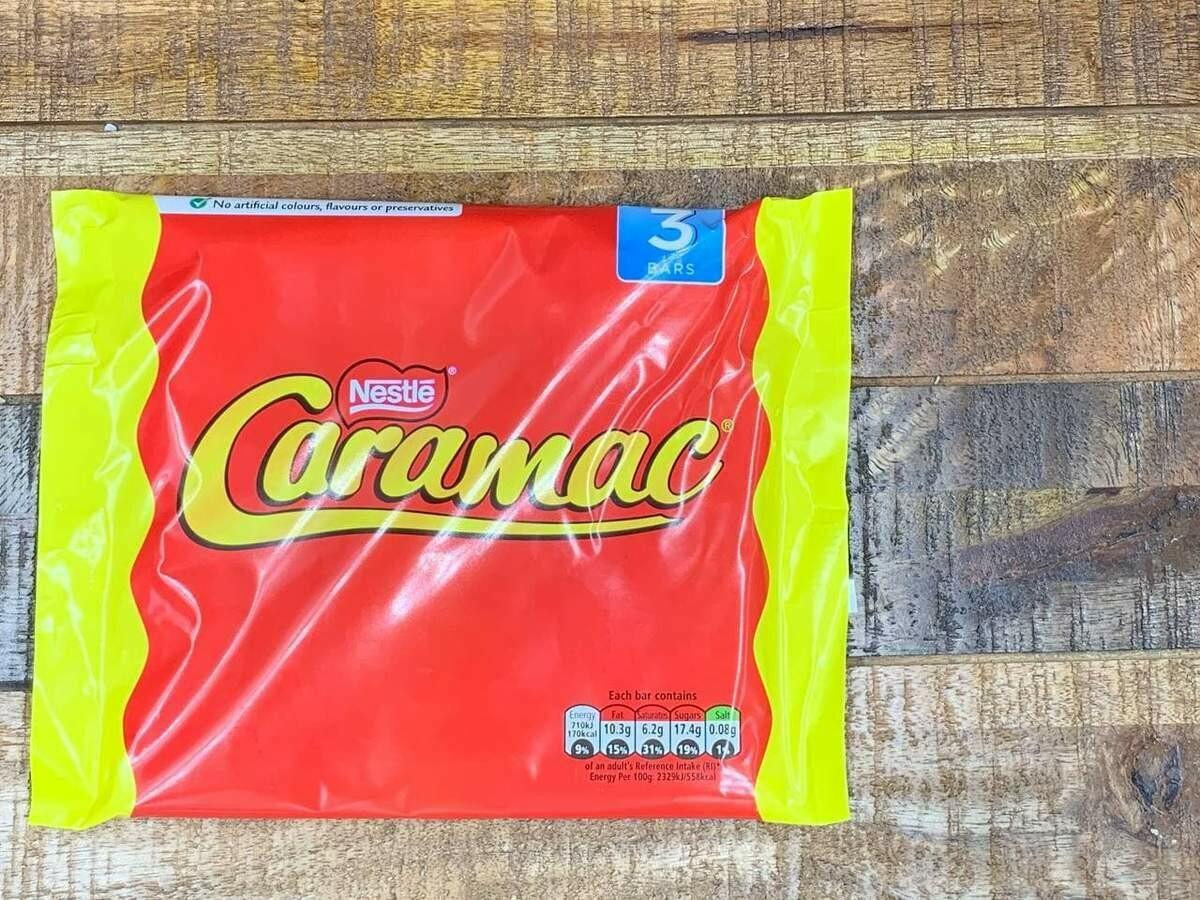 Nestle Caramac 3 pack