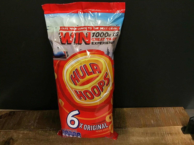 Hula Hoops Original 6 Pack 144g