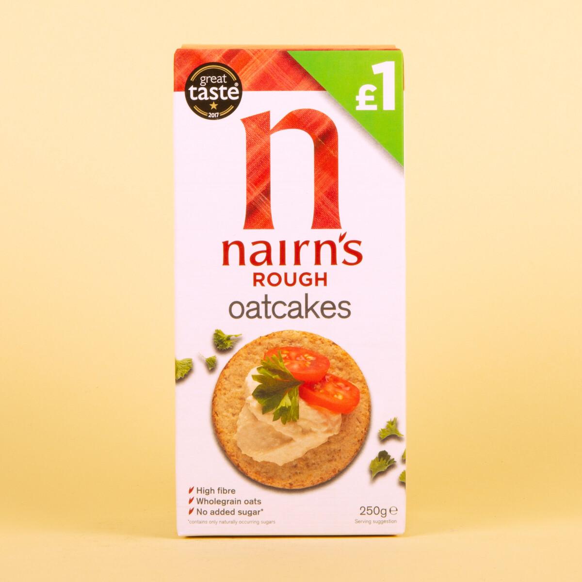 Nairn's Rough Oatcakes 250g