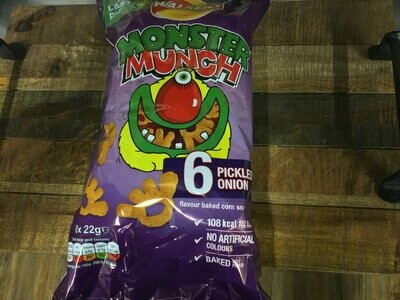 Monster Munch Pickle Onion 6-Pack