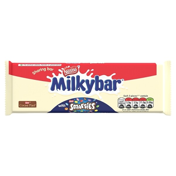 MilkyBar with Smarties 100g