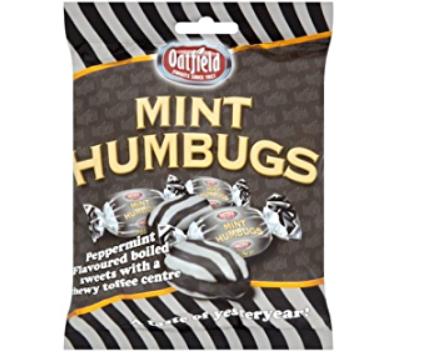 Oatfield Mint Humbugs 150g