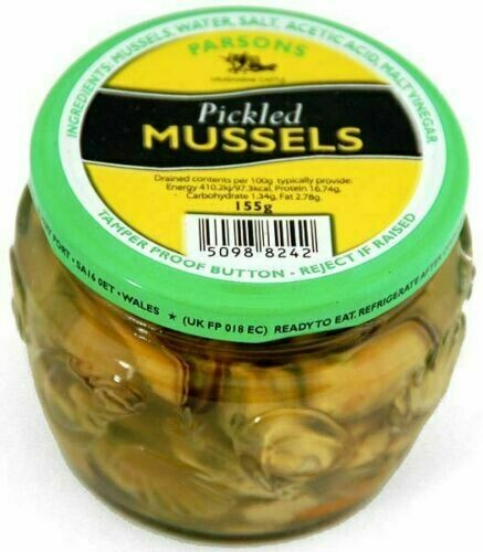 Parsons Pickled Mussels 155g