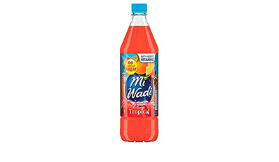 Mi Wadi No Added Sugar  Tropical 1000ml