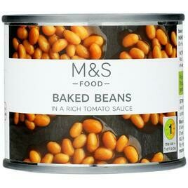 M&S Baked Beans In Tomato Sauce 410g
